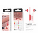 Headset 3.5Mm Red