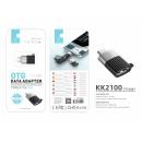 nagyker Computer és telekommunikáció: Adapter Otg Type-C - USB fekete
