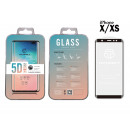 Ip X / Xs 5D Fullcover Black Tempered Glass Film
