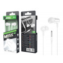 Headsets With White Microphone Wire