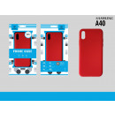 Silicone Cover Tpu Sa A40 Red