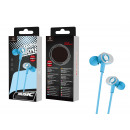 Headsets With Microphone Wire 1.2M Blue