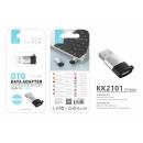 nagyker Computer és telekommunikáció: Adapter Otg USB 2.0 C típusú fekete