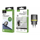 Charger Without Cable 1A 1Usb Black