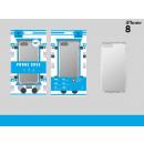 Ip 8 Silber Anti-Shock Case Transparent