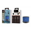 Blauwe Bluetooth Mini Column