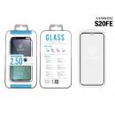 Samsung S20 Fe 2.5D Peliküre aus gehärtetem Glas