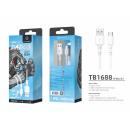 Kabel USB Typ C 3M 2A Weiß