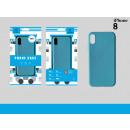 Silicone Case Tpu Iphone 8 Blue