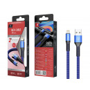 Usb Cable For Ip 6/7/8 / X / Xs 2A 1M Blue