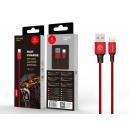 USB-Kabel für IP 6/7/8 / X / Xs 2A 1M Rot