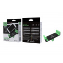 Black / Green Universal Mobile Holder