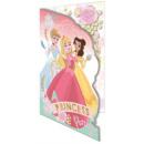Disney Karta z pozdrowieniami księżniczki Brokat +