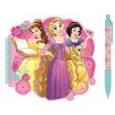 Disney Księżniczka Notatnik + długopis