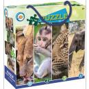 Puzzle zwierząt 4x100 sztuk