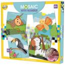 Zestaw kreatywny mozaiki z pianki zwierzęcej
