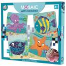 Kreatywny zestaw mozaiki z pianki oceanicznej
