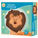 Puzzle w kształcie lwa w 53 kawałkach