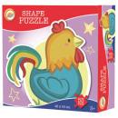Puzzle w kształcie kury 53 sztuki