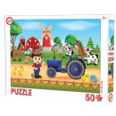 Puzzle Farm 50 szt