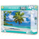 Seychelles Beach puzzle 500 el