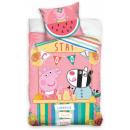 wholesale Pet supplies: Peppa pig bedding cover 140 × 200cm, 70 × 90 cm
