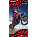 Ręcznik kąpielowy motocross, ręcznik plażowy 70*14