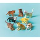 Zestaw 12 plastikowych figurek Kitten, The Cat
