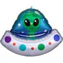 mayorista Muñecas y peluches: Globos Hologram Alien Foil 71 cm