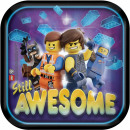 LEGO Movie, LEGO Adventure Pappteller mit 8 Stück