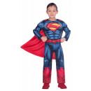 Superman kostium 4-6 lat