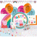 wholesale Gifts & Stationery: Peppa pig party set 56 pcs