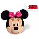 DisneyMinnie głowa 3D, pluszowa figurka, poduszka