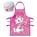 hurtownia Produkty licencyjne: Disney Fartuszek dziecięcy Marie Kitten zestaw 2-c