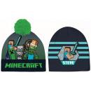Minecraft czapka dziecięca 52-54 cm