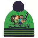 Minecraft czapka dziecięca 54-56 cm