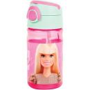 Barbie plastikowa butelka z wieszakiem 350 ml