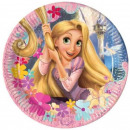 Disney Rapunzel, Princesses Talerz papierowy 8 szt