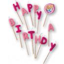 DisneyPrincess , Księżniczki Happy Birthday świeca