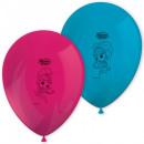 Balon Shimmer and Shine z 8 szt. Balonów