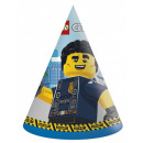 LEGO City Partyhut, Hut 6 Stück