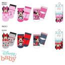 DisneyMinnie skarpetki dziecięce 0-12 miesięcy