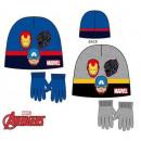 Zestaw czapka dziecięca + rękawiczki Avengers 52-5