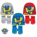Czapka dziecięca Psi Patrol + rękawiczki zestaw 52