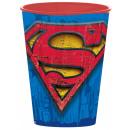 Superman szkło, plastik 260 ml