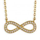 Collier Infinity 3 micron 18 ct. Gold Edition