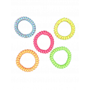 Pulsera espiral con asteriscos