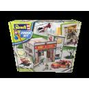 Revell Junior Kit tűzoltóállomás 40 x 35,5 x 10 cm