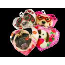 Kussens met hondenmotief, klein, 14 x 12cm, VE 12