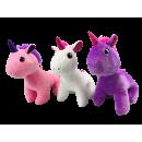 Unicornio con ojos brillantes 3 veces 25cm